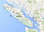 map of vancouver island