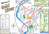 map of gold river
