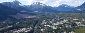 village of gold river on vancouver island british columbia canada