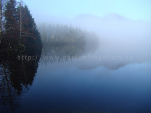 photograph of bull lake in nootka sound