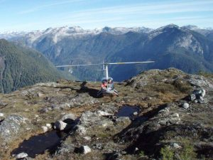 E & B Helicopters Sight Seeing Nootka Sound