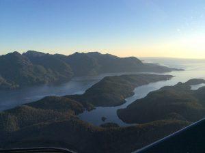 air nootka aerial photograph of nootka sound