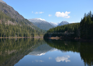 antler lake in gold river bc