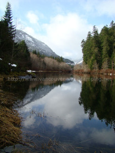 drum lake in gold river bc