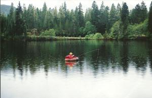 star lake in gold river bc