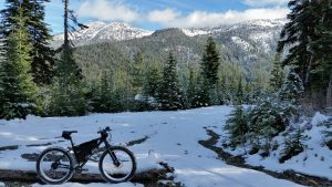 mountain bike riding in Gold River