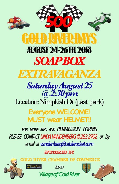 gold river chamber of commerce soapbox extravaganza