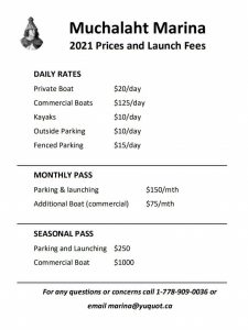 gold river boat launch prices