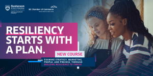 online course - resiliency to survive by the chamber of commerce